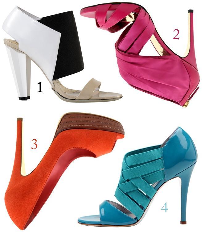 shoes in technicolor