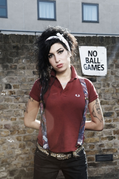 amy winehouse for fred perry