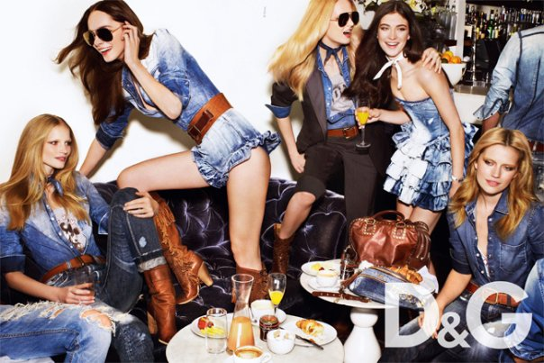 d&G campaign spring summer 2010