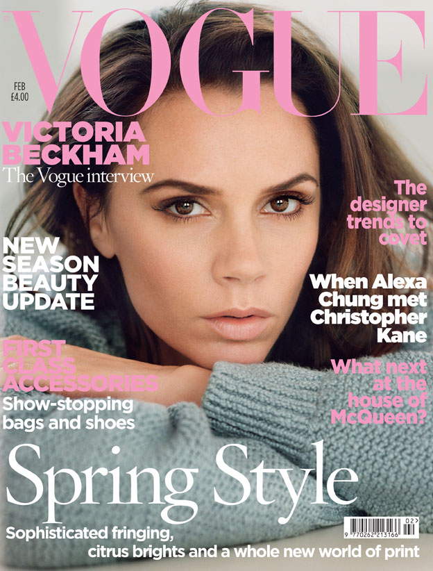Vogue  February  cover  bt
