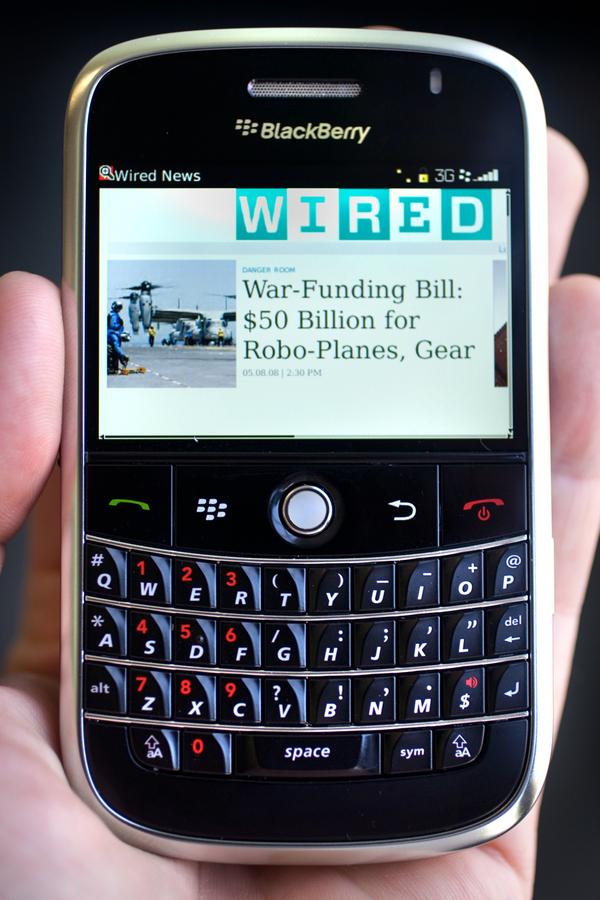 blackberry post