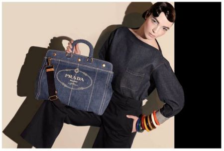 shopping denim prada