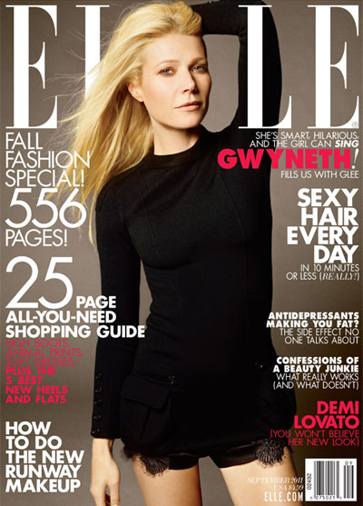 Gwyneth Paltrow Elle US September  DESIGNSCENE net