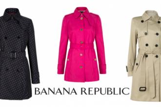 trench banana republic