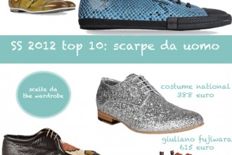 scarpe uomo SS 2012 top 10