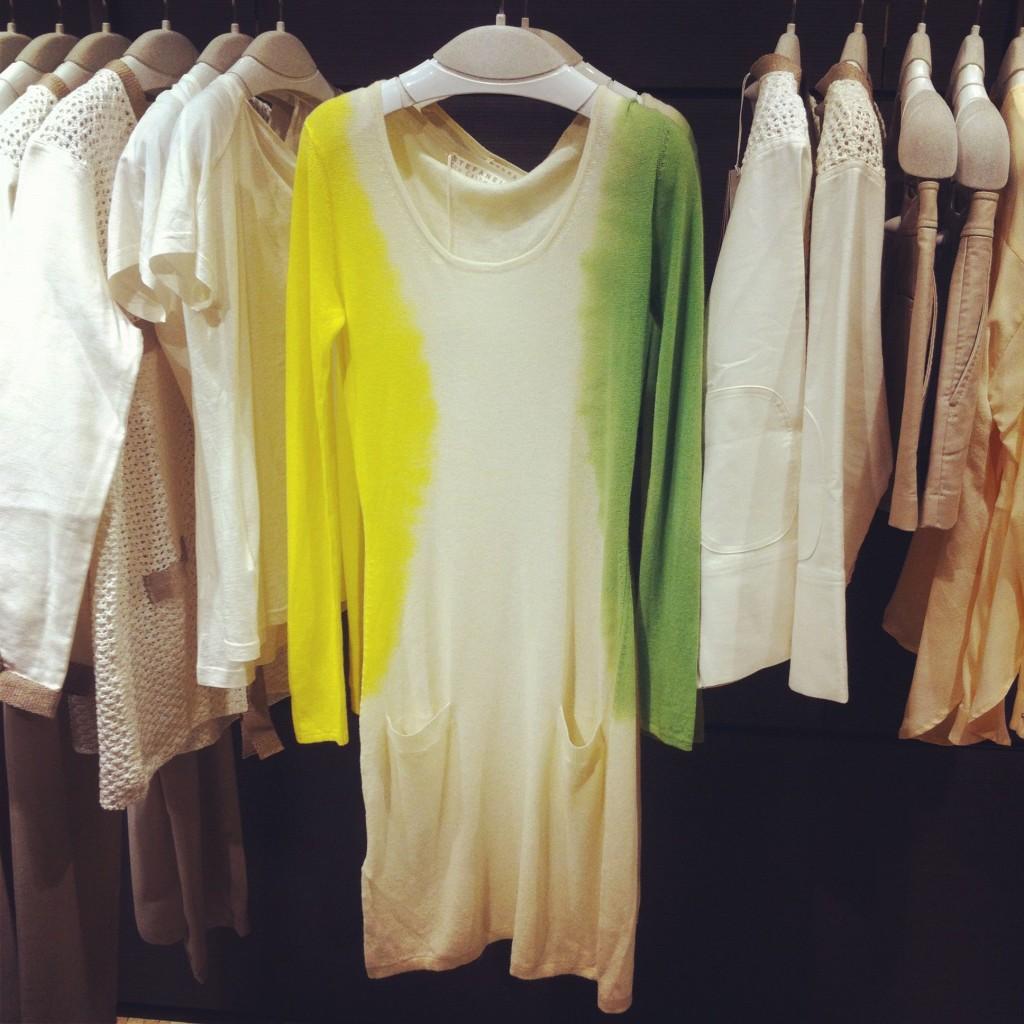 abito in eco-cashmere - Stefanel SS 2012