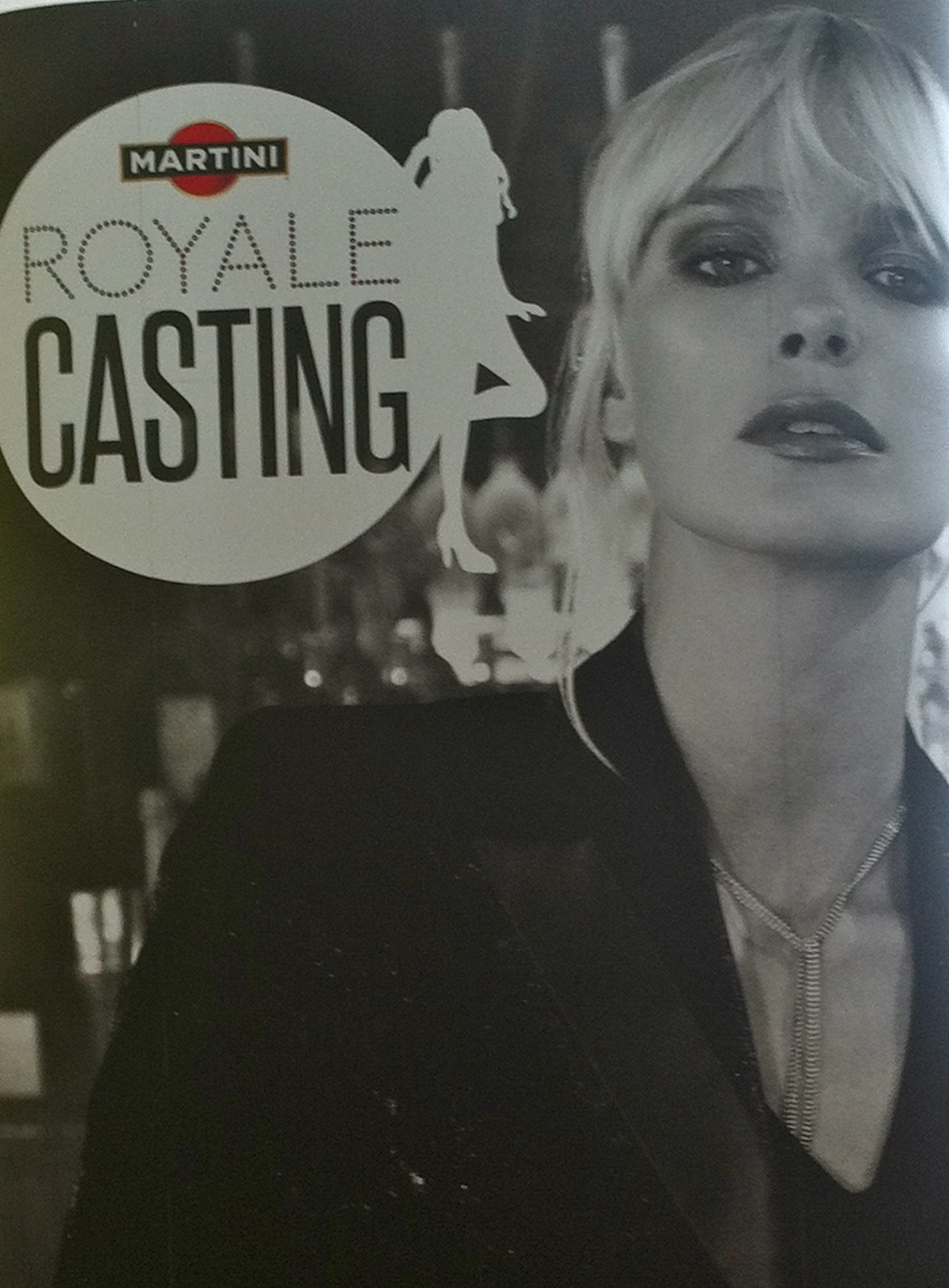 Martini Royale casting