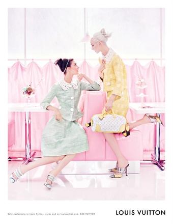 louis vuitton primavera estate 2012 advertising