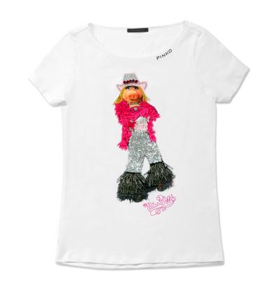 Animal - Miss Piggy - Pinko tee