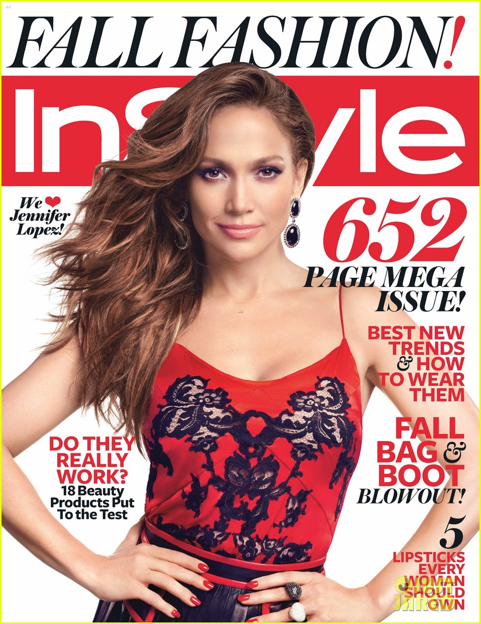jennifer lopez cover instyle september