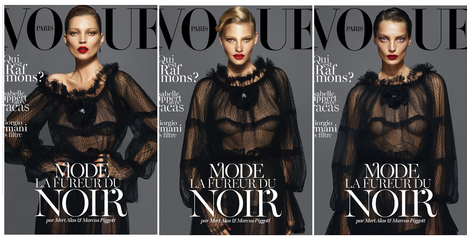 vogue paris cover September