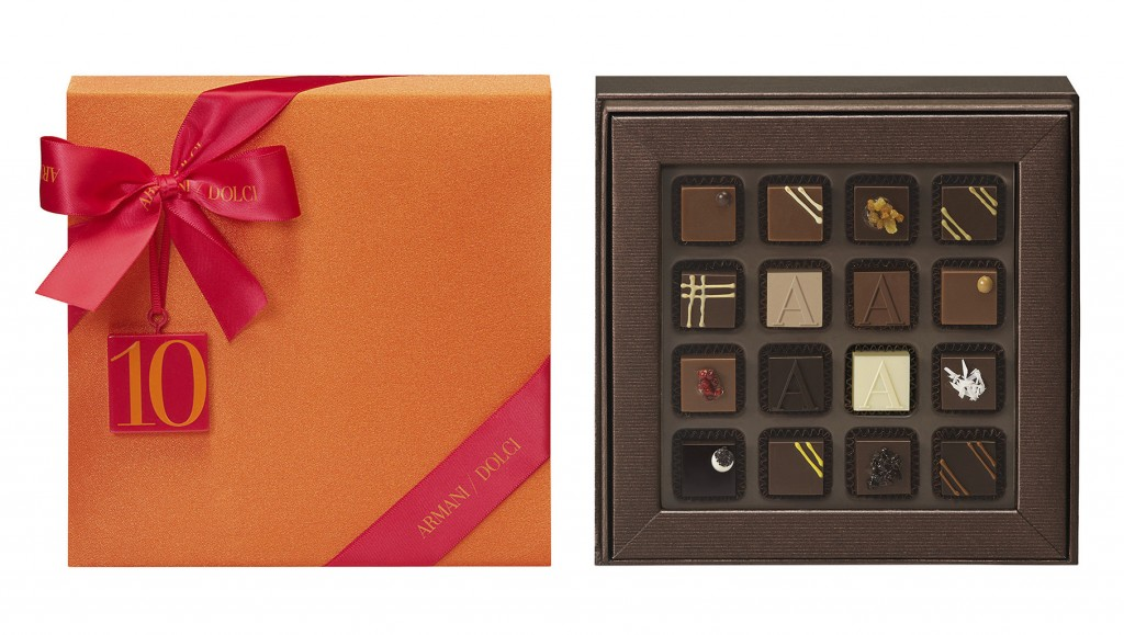 Armani Dolci 10th Anniversary packaging