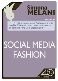 SOCIAL MEDIA FASHION, ebook di Simona melani blogger