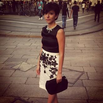 simona melani giovanni panettieri elegant dress haute couture