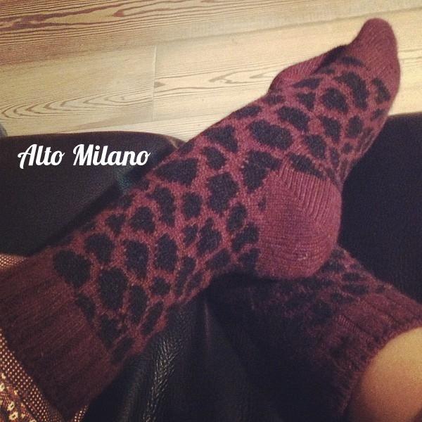 alto Milano - calze maculate