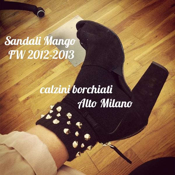 alto Milano - calzini borchiati