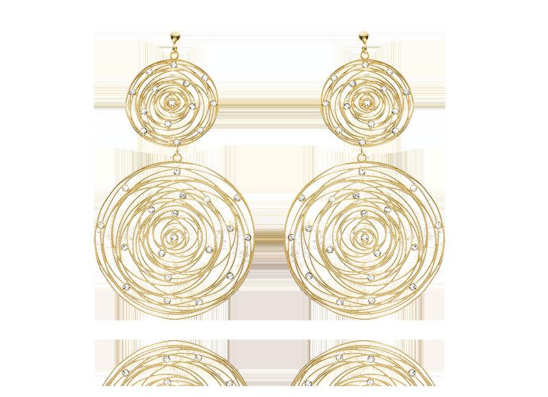 orecchini-stroili oro- chic Embrace