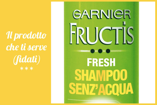 fructis shampoo senzacqua