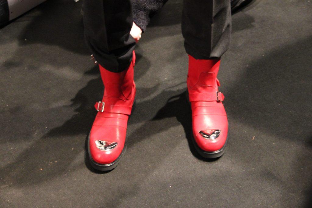 Backstage John Richmond FW 2013 - 2014