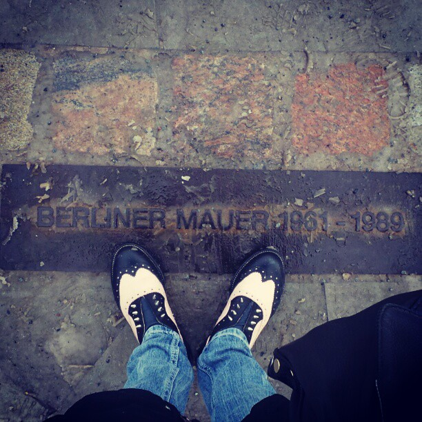 berliner mauer-LF shoes
