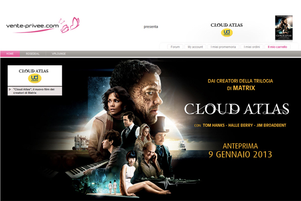 cloud atlas recensione film con tom hanks the wardrobe. Black Bedroom Furniture Sets. Home Design Ideas