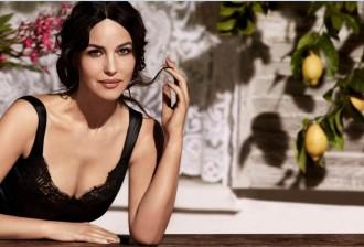 Monica Bellucci - dolce&gabbana make up - true Monica