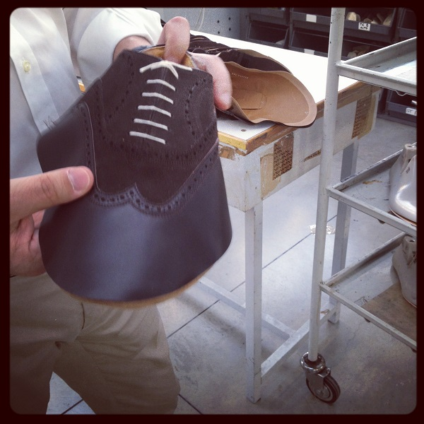come si fa una scarpa Moreschi