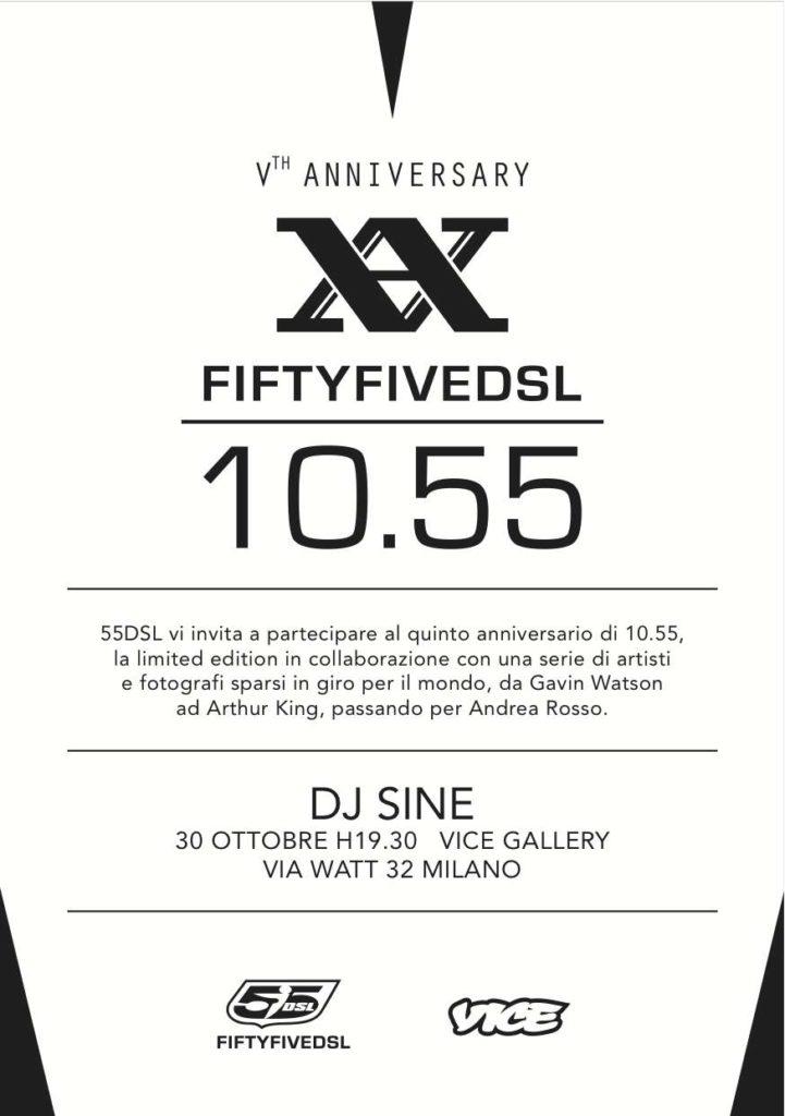 10.50 party - 55DSL Vice