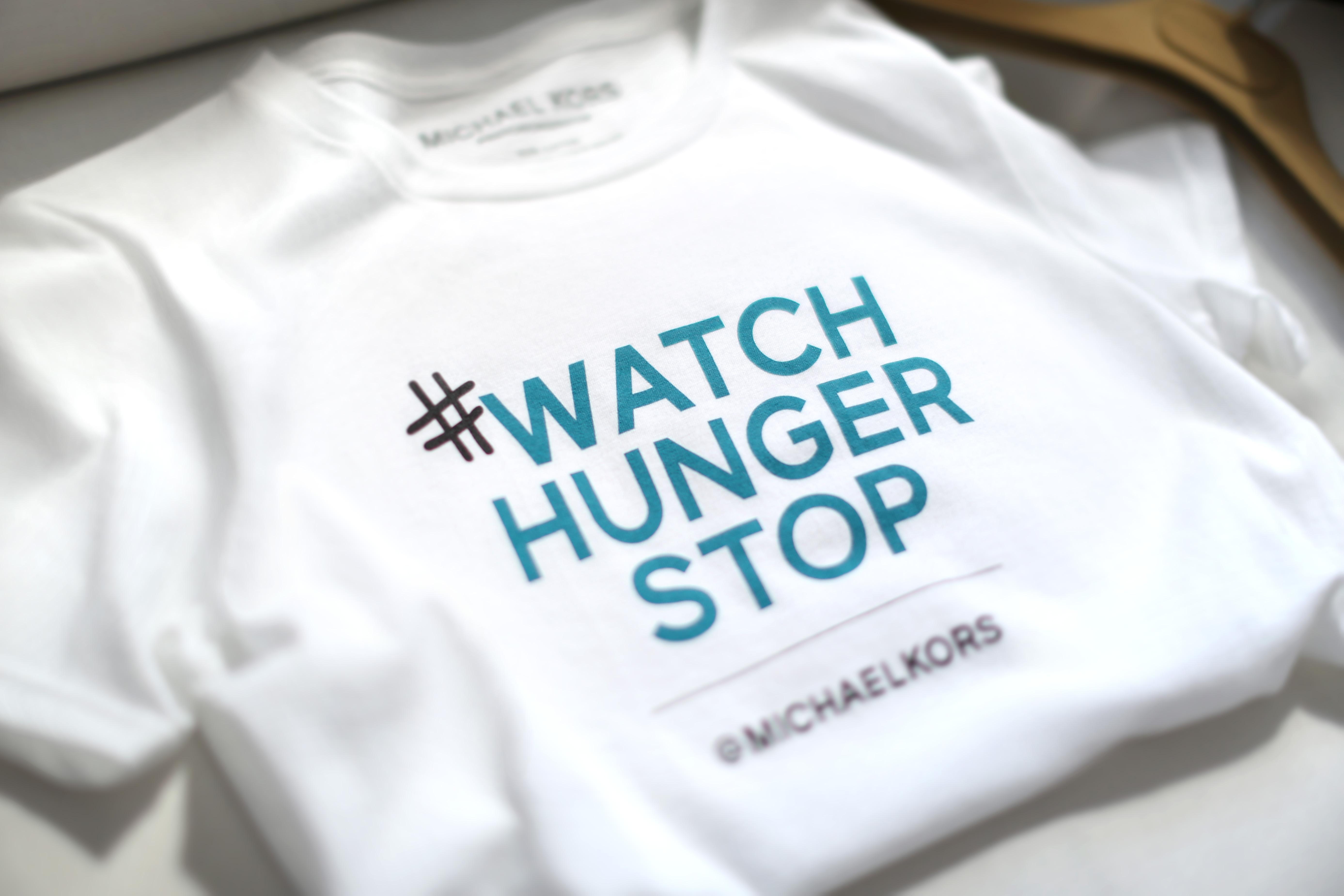 WatchHungerStop Tshirt