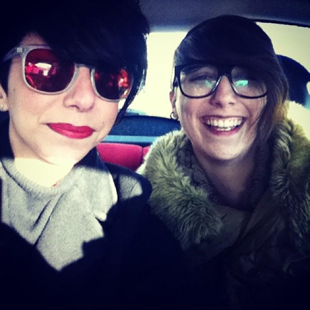 Simona Melani e Francesca Gerardi