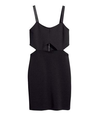 h&m abito nero da 9,95