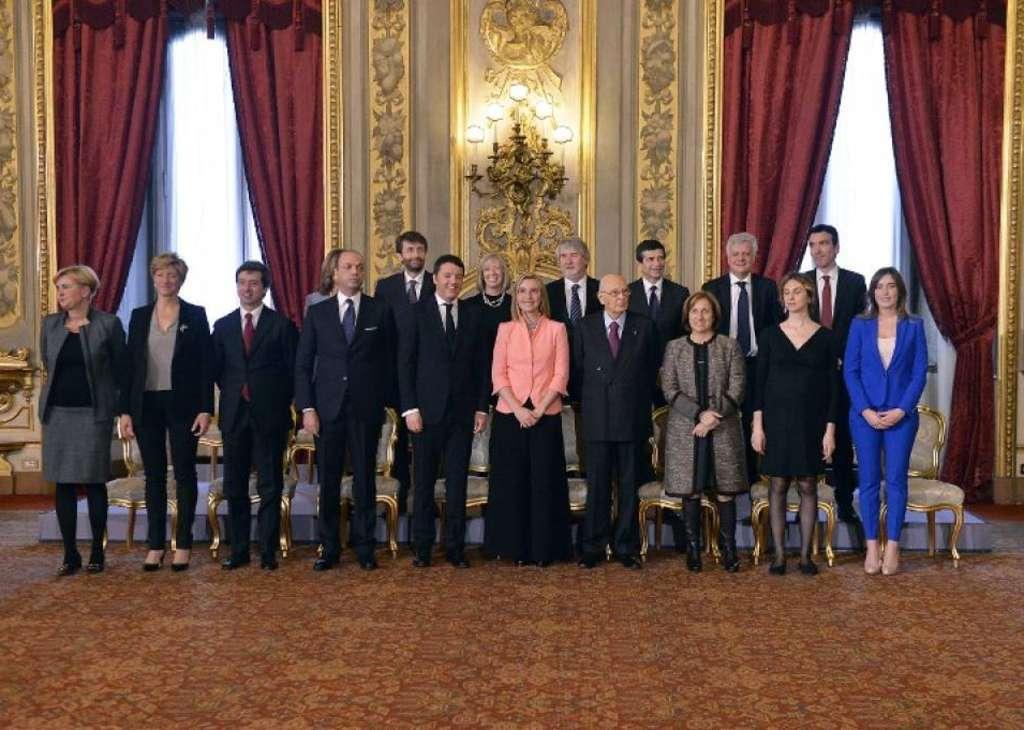 Il Governo Renzi Afp