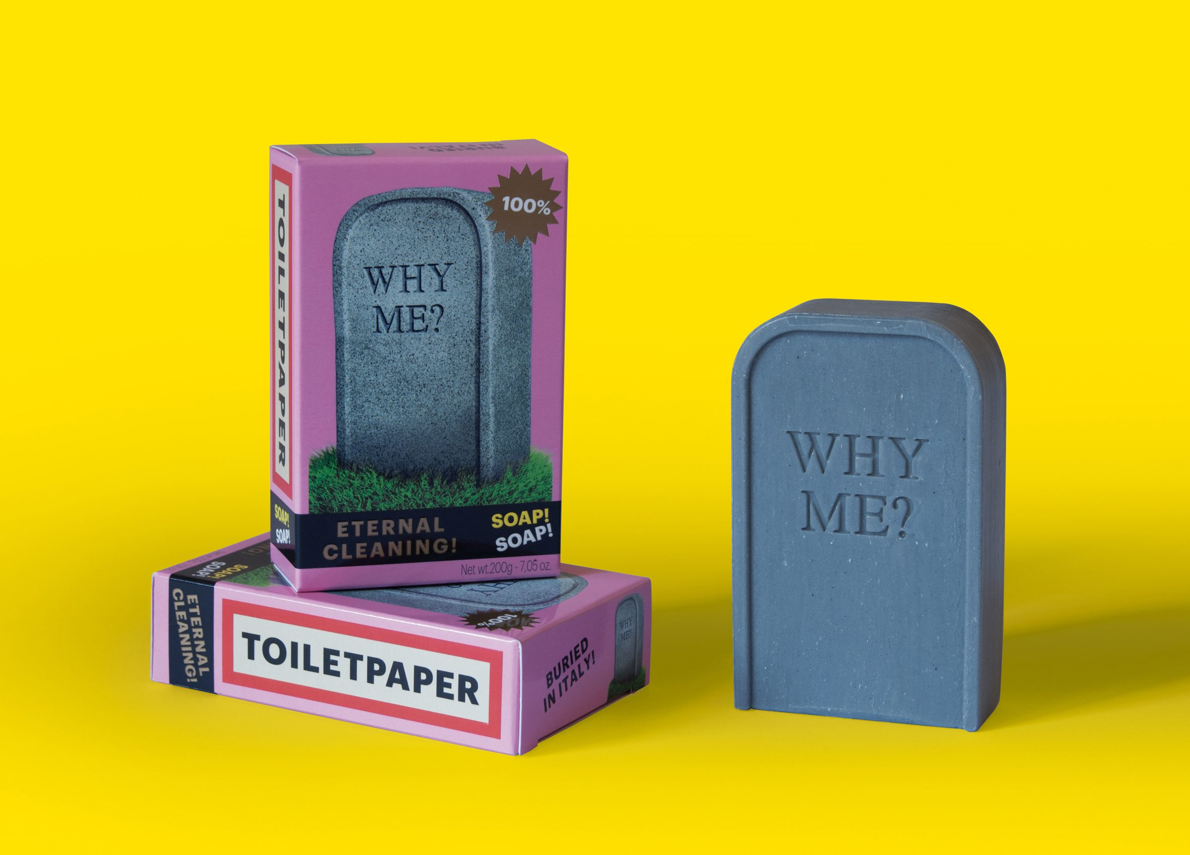 SelettiwearsTOILETPAPER&#;soap