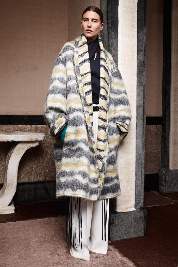 agnona cappotto lana