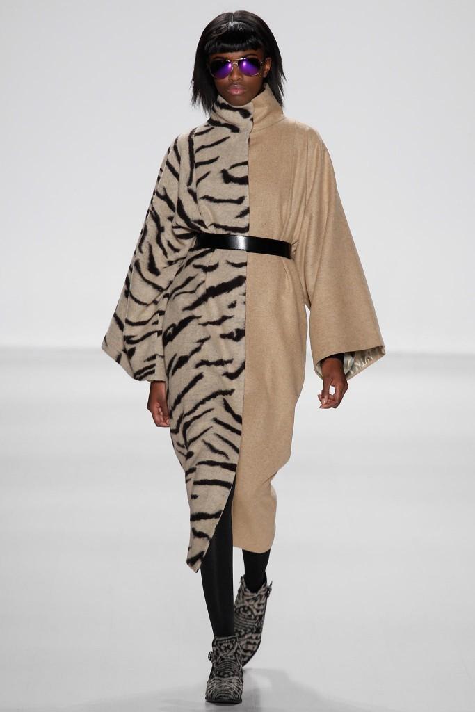 custo barcelona cappotto animalier