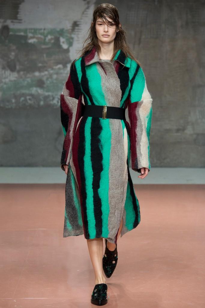 marni cappotto lungo colorato