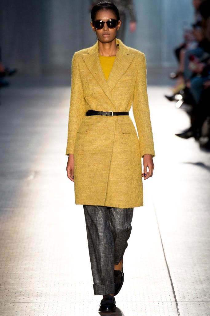 paul smith cappotto giallo