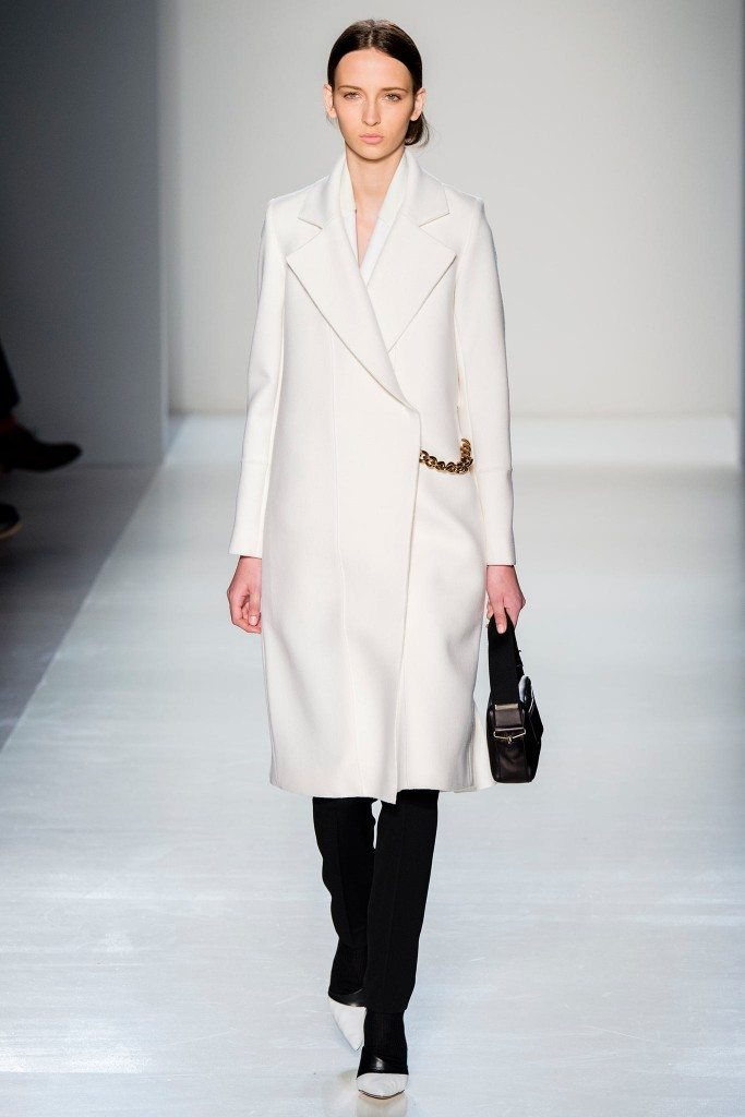 victoria beckham cappotto bianco