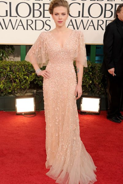 in Elie Saab, Golden Globe 2011