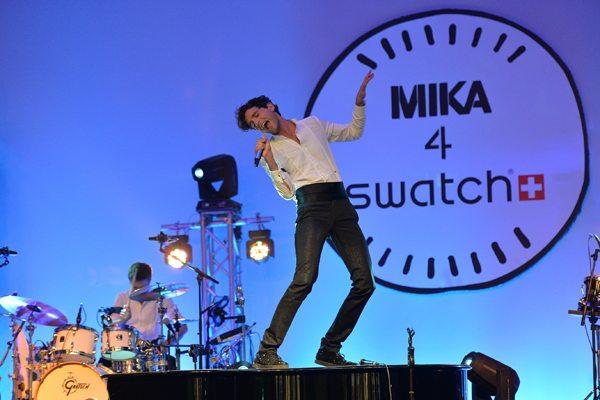 Swatch e Mika, una serata AMUUUZING a Milano
