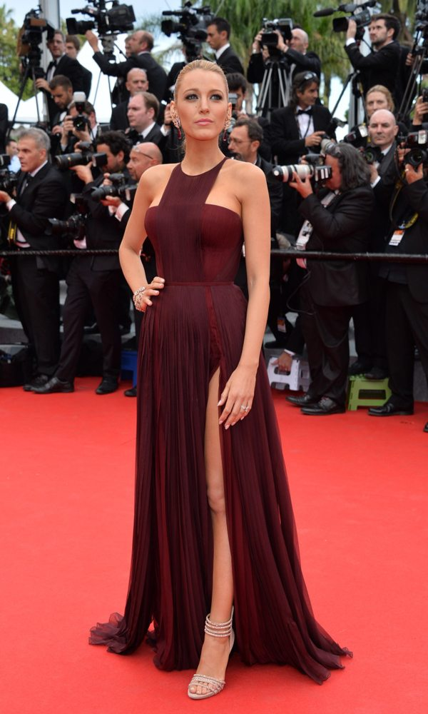 Blake Lively in Gucci, Festival di Cannes 2014