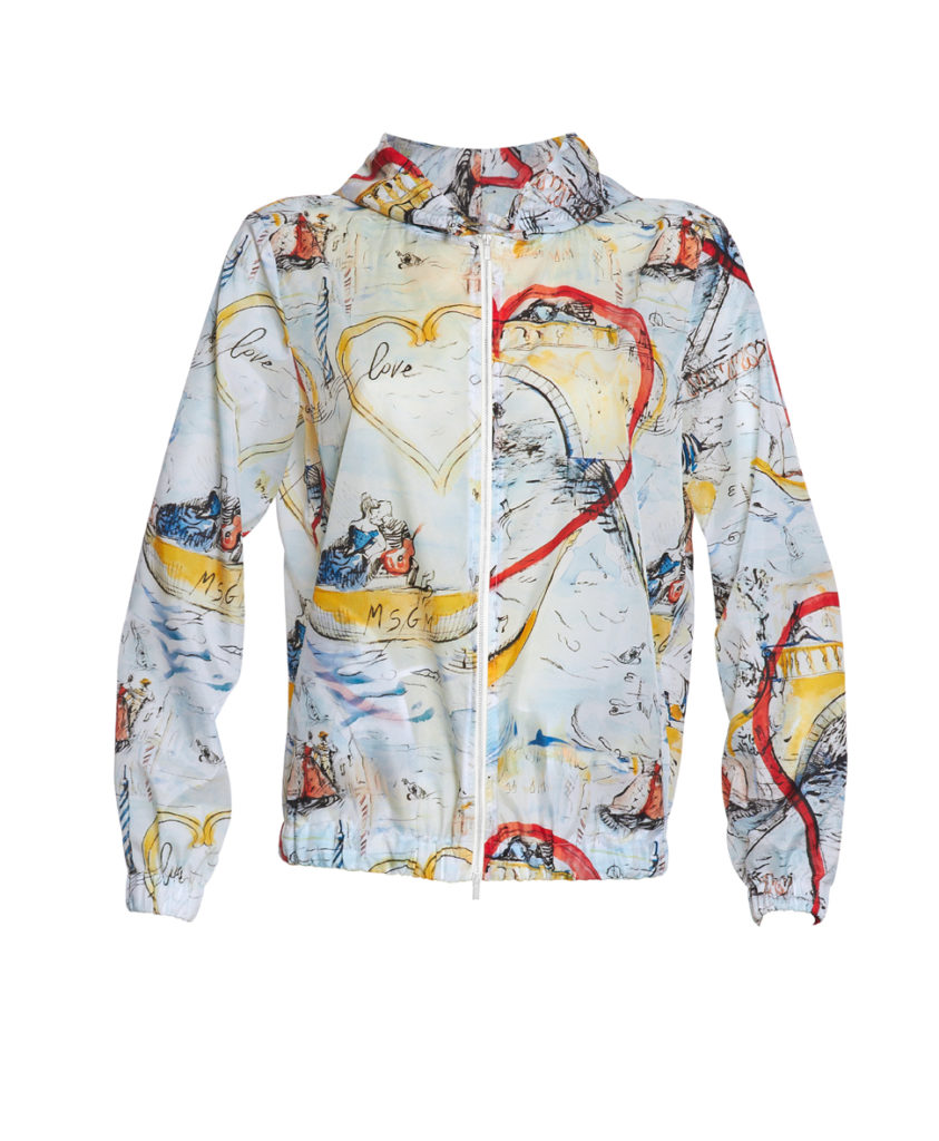 Jacket_MSGM X YOOX_exclusively for yoox.com