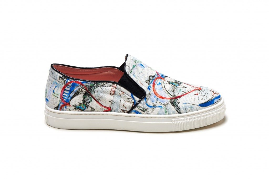 Shoe_MSGM X YOOX_exclusively for yoox.com_blue