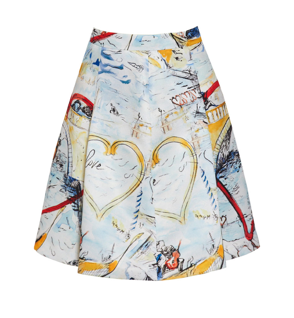 Skirt_MSGM X YOOX_exclusively for yoox.com