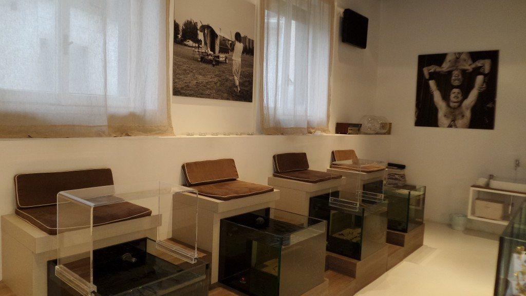 Spazio Garrarufa Milano | Fish Therapy