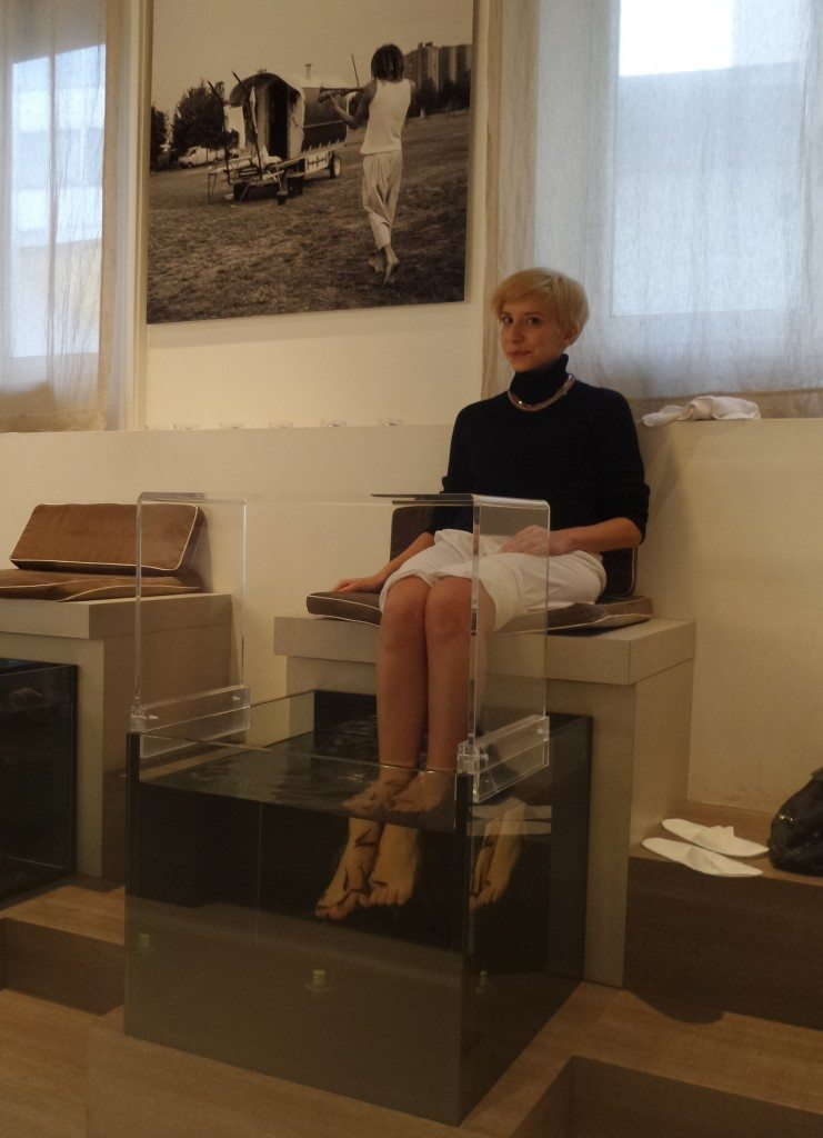 Spazio Garrarufa - Simona Melani - Fish Therapy