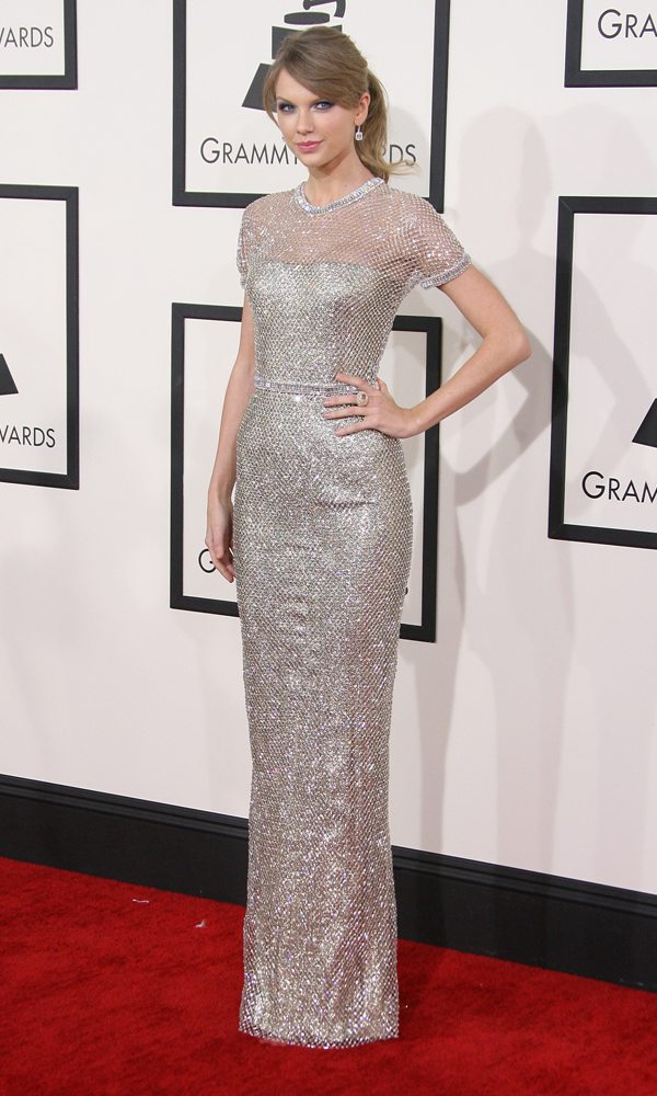 Taylor Swift in Gucci, Grammy 2014