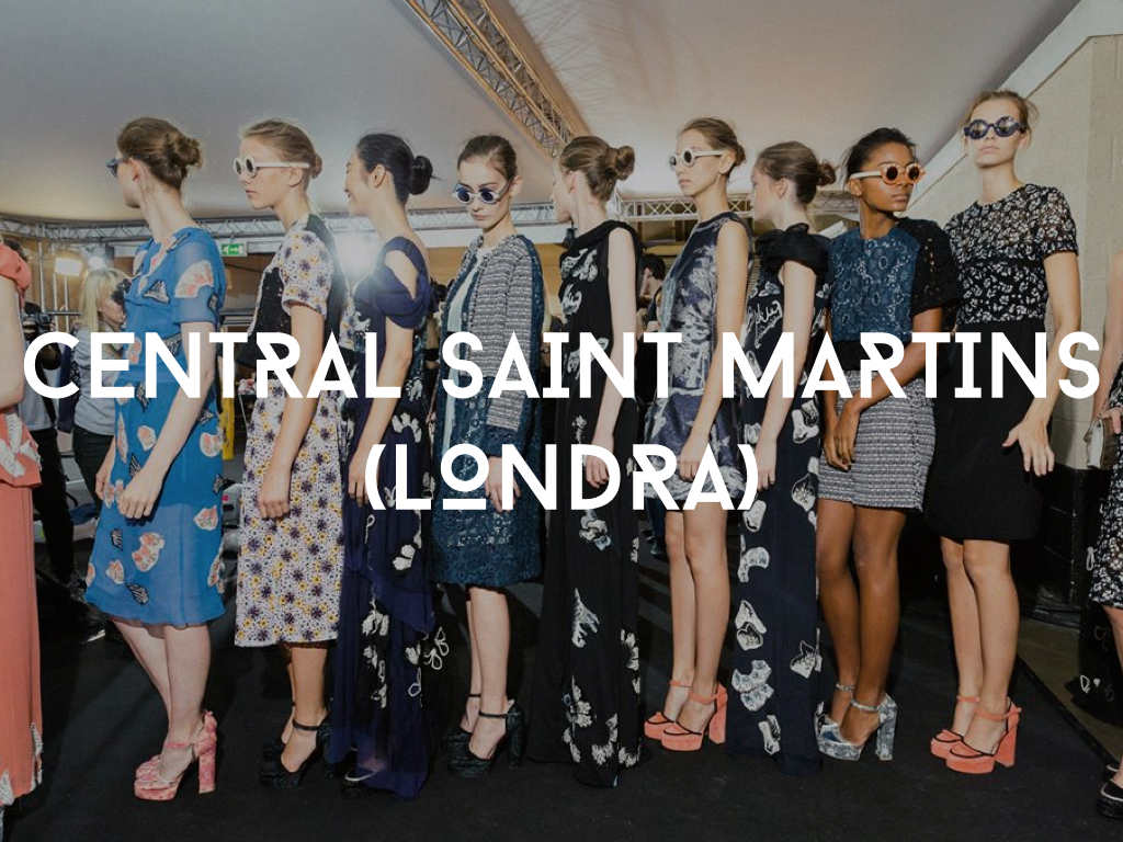 Studiare moda alla Central Saint Martins