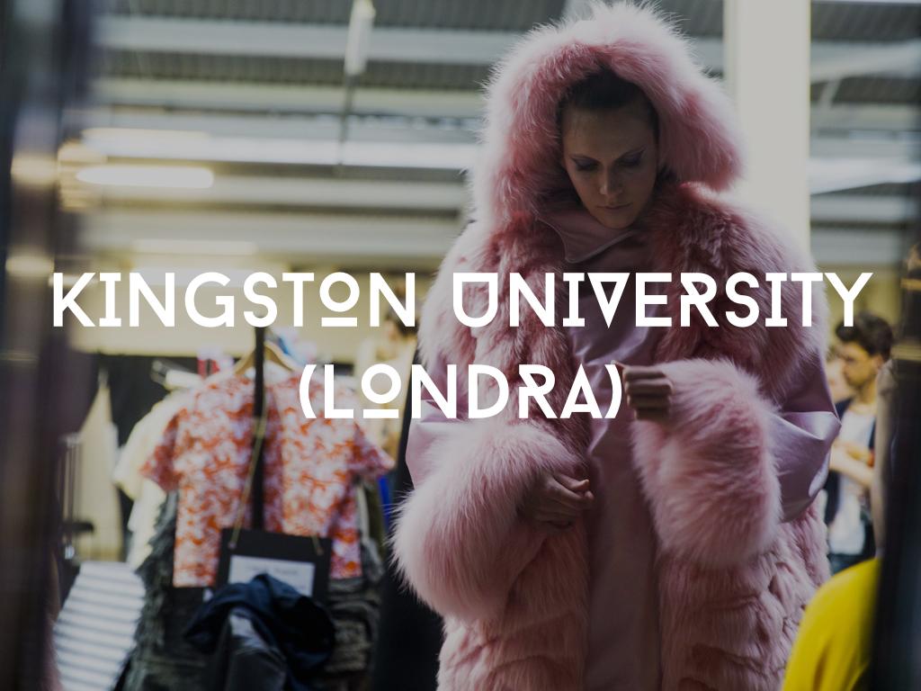 Studiare moda alla kingston university
