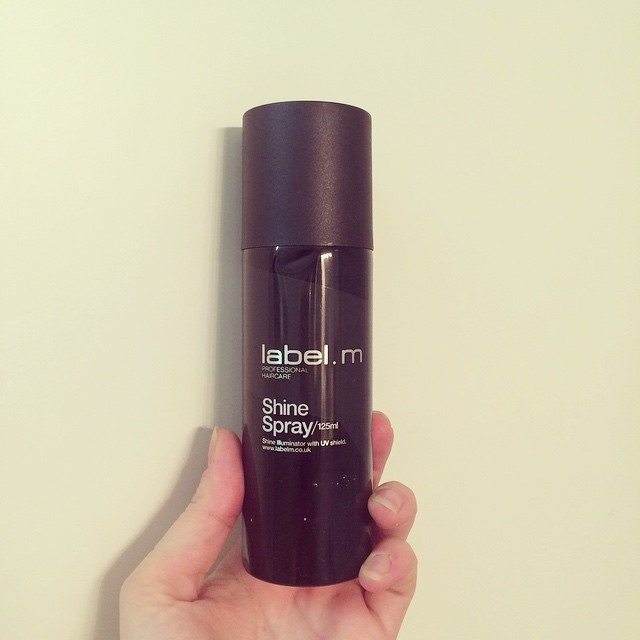toni & guy label.m shine spray
